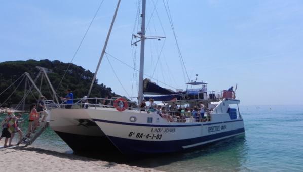 Rutas en catamaran Lloret de Mar, Costa Brava