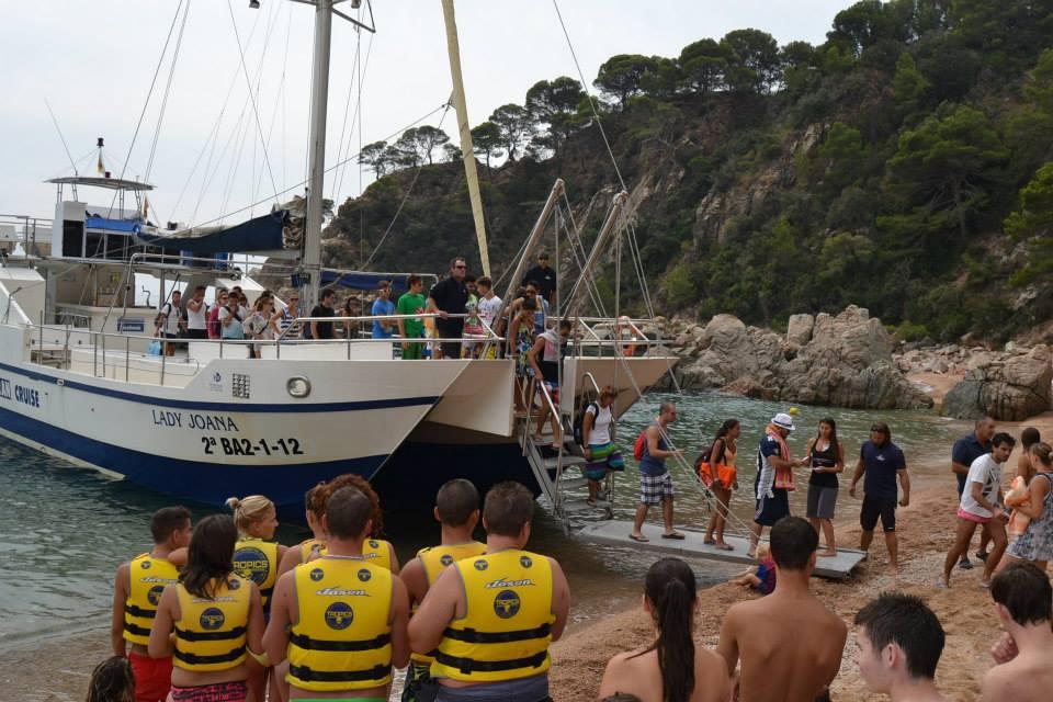 Catamaran Costa Brava Bluesail